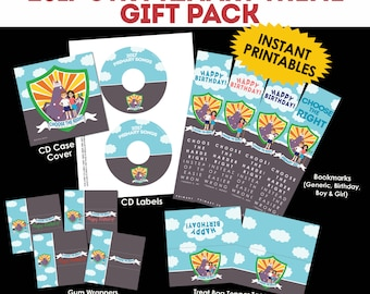 """2017 LDS Primary Theme """"Choose the Right"""" CTR Gift Pack"""
