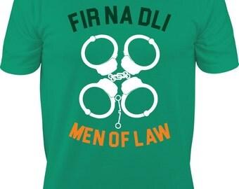 St. Patrick's Day Police shirt - St. Patrick's Day shirt - Police shirt - Fir Na Dli Shirt - Shamrock Shirt - Shamrock Police Shirt
