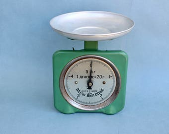 Vintage Soviet Kitchen Scale