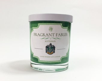 Slytherin House | Harry Potter | Scented Soy Wax Candle