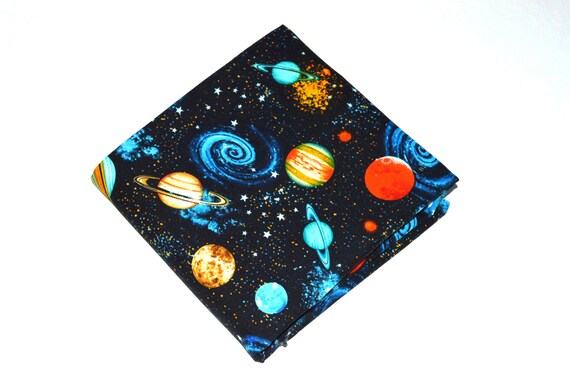 Space fabric cotton fabric quilting fabric fabric by the for Space quilting fabric