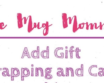 Gift Wrap, Add On, Gift Box, Gift Card
