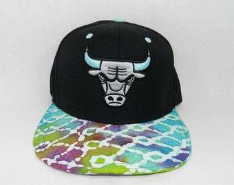 Custom Snapback Chicago Bulls