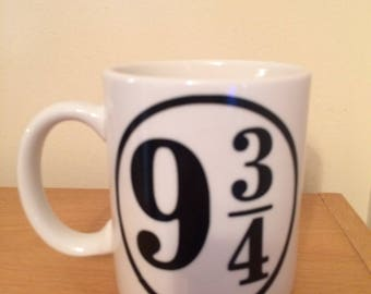 Inspired Harry Potter Platform 9 3/4 mug