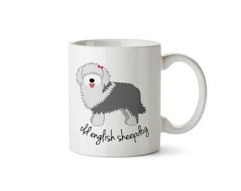 Old English Sheepdog Mug (girl)