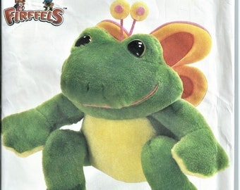 Simplicity Crafts Pattern 7206 Firffel Butterfrog Half Butterfly Half Frog Vintage Whoever Heard of a Fird Stuffed Toy UNUSED 1985