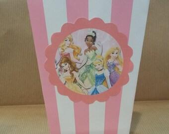 Princess popcorn boxes set 10