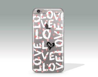 iPhone 7 Plus Case iPhone 7 Case Love iPhone 6 Case iPhone 6s Plus Case iPhone 5 iPhone 6 Plus Case Valentine's Day Gift Birthday Gift //337