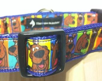Scooby Doo Dog Collar - Cartoon Dog Collar FREE Shipping