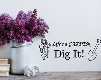 Dig Decal Etsy