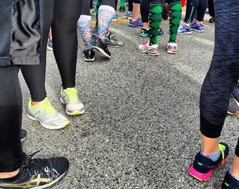 2016 Shamrock Shuffle shoes and socks