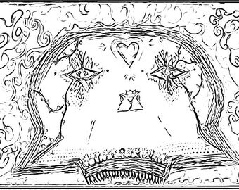 Myka jelina art coloring pages coloring pages for Myka jelina coloring pages