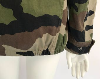Vintage 1990s French Camo Jacket