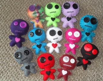 Voodoo Dolls with Pins
