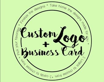 Custom Logo & Business Card