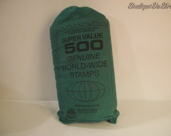500 Genuine World-Wide Stamps