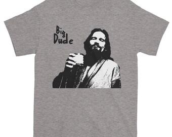 Big Dude Father Son T-Shirt The Dude Big Lebowski Shirt