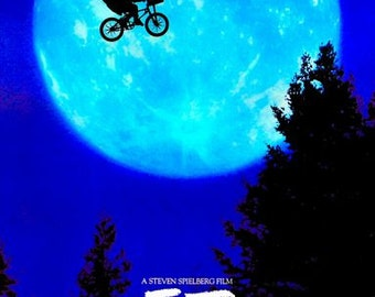 ET Movie Poster  A3/A2/A1 Print