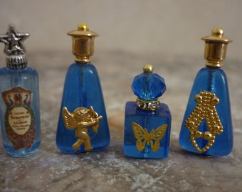Bottle of Perfume with glamour