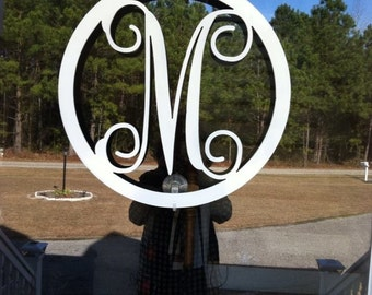 circle monogram door hanging circle monogram letters for walls monogram door hanging monogram letters metal wall art