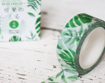 Tropical Banana Leaf Botanical Washi Tape