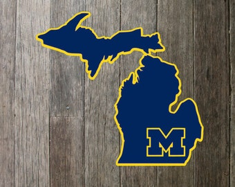 University of Michigan decal