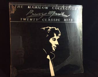 Barry Manilow - The Manilow Collection Twenty Classic Hits - 1985 LP vinyl record
