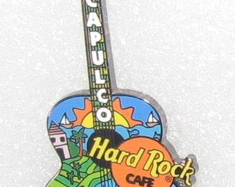 Hard Rock Cafe Guitar Hat Pin, Acapulco