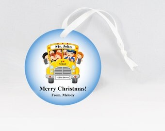School Bus Driver Ornaments