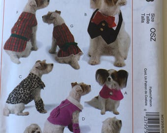 McCalls Crafts M5998 Pet Clothes Uncut Out of Print Pattern, Copyright© 2009