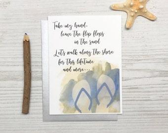 Anniversary Card, Love Card, Beach Card, Shoe Card, Charity Card