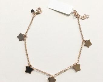 Bracelet 925 silver pendants starlets rosato