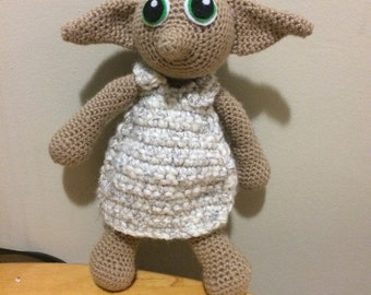 Knitting Pattern For Dobby The House Elf : dobby   Etsy