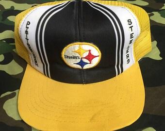 Vintage PITTSBURGH STEELERS Trucker Hat