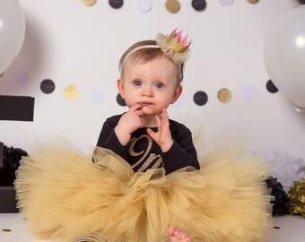 CHOOSE COLOR Gold Tutu Baby Tutu Fluffy Tutu Baby Birthday Tutu Kids Tutu Girls Tutu Cake Smash Tutu Toddler Tutu Infant Tutu Photo Prop