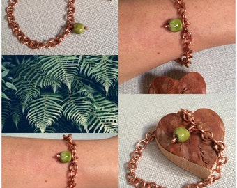 Copper bracelet mesh, a jewel in the beneficial virtues.