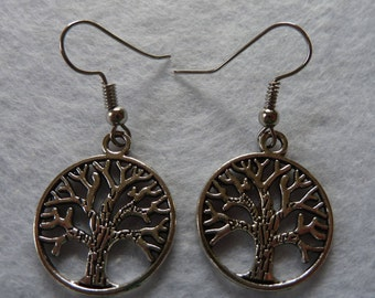 Silver Earring tree