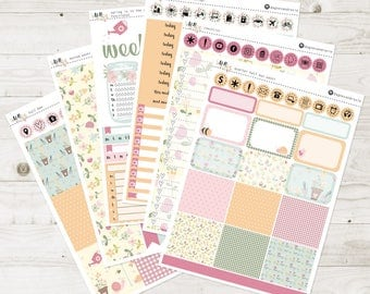 Spring Is In the Air Vertical Weekly Kit | Matte | made to fit ECLP vertical