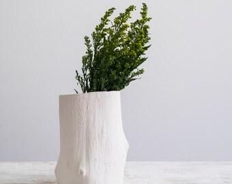 Wood Grain Vase