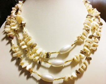 Shell & Pearl Necklace