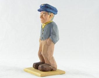 Man with Blue Cap