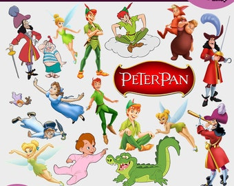 Peter pan clipart | Etsy