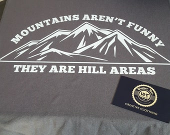 Funny Mountain Climbing Hiking T-Shirt