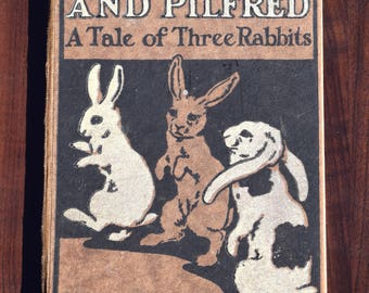 childrens books,vintage books,antique books,rabbit book,kids book,rare books,animal story,rose magill chase,rare,classic books,birthday,