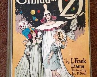 Glinda of Oz by L. Frank Baum, Reilly Publishers 1920