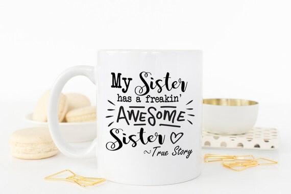 ... sister, Christmas Gift, Gift for her, Sister birthday gift, big sister