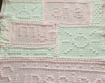 Sunshine baby afghan-any color