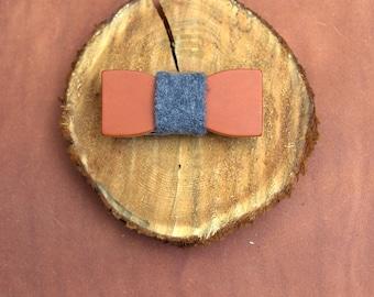 Handmade Leather Bow Tie