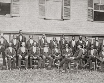 African American Baseball Team Photo, Danbury, Connecticut, Black Baseball Teams, 1880, Black Art Prints