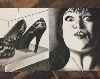 Shoes! Lithograph